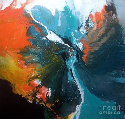 Painting - Mariposa by Elaine Callahan