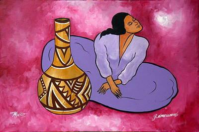 John Smeulders Painting - Mariposa by John Smeulders