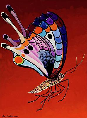 Painting - Mariposa Mamba by Bob Coonts