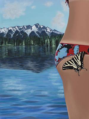 Painting - Mariposa by Meniyka Kiravell