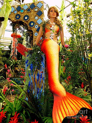 Photograph - Marisol The Mermaid by Ed Weidman