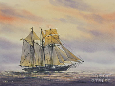 Maritime Beauty Art Print by James Williamson