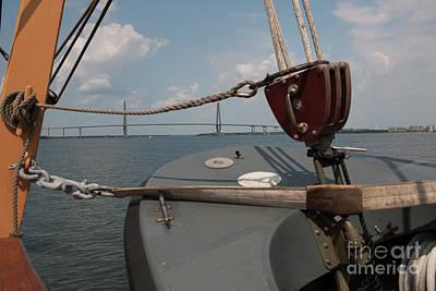 Photograph - Maritime Bridge View by Dale Powell