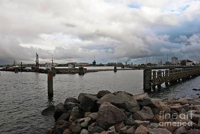 Photograph - Maritime Cloud Drama by Silva Wischeropp