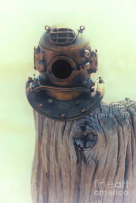 Photograph - Maritime Diver Helmet by Dale Powell