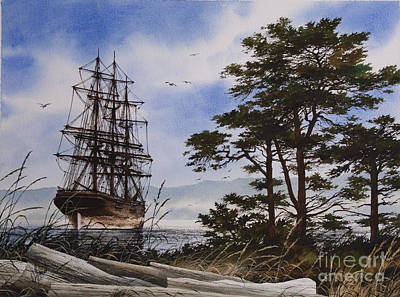 Maritime Shore Art Print by James Williamson