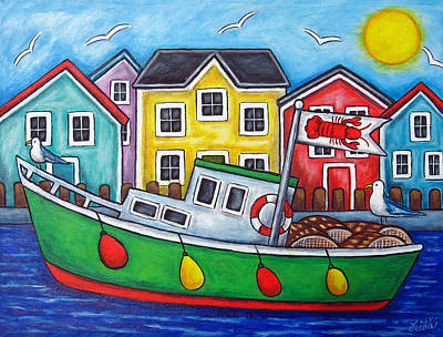 Painting - Maritime Special by Lisa  Lorenz