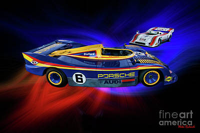 Photograph - Mark Donohue And George Follmer Porsche by Blake Richards