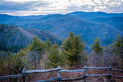 Photograph - Mark Hannah Overlook Cataloochee by Susie Weaver