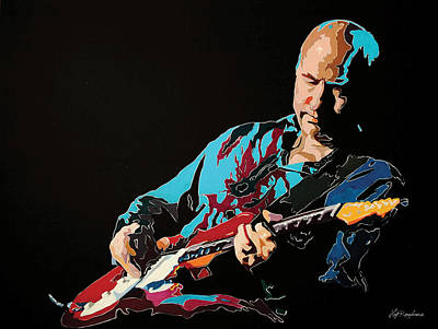 Painting - Mark Knopfler by Hay Rouleaux