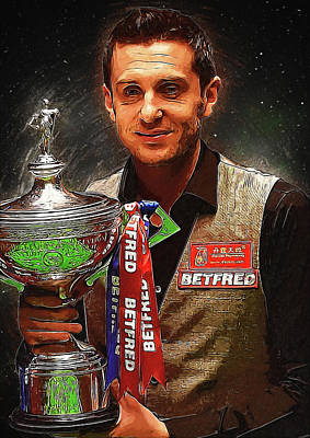 Communion Digital Art - Mark Selby by Semih Yurdabak