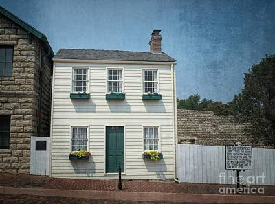 Photograph - Mark Twain Boyhood Home Hannibal by Luther Fine Art
