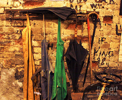 Photograph - Mark Twain's Coat Rack by Dennis Galloway