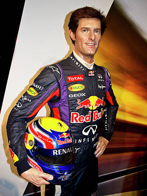 Photograph - Mark Webber by Miroslava Jurcik