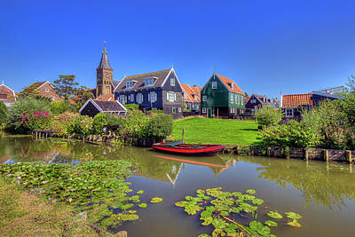 Photograph - Marken Village by Nadia Sanowar