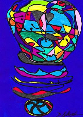 Drawing - Marker 432 by Darrell Black