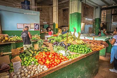 Photograph - Market by Bill Howard