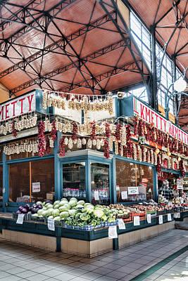 Photograph - Market Corner by Sharon Popek