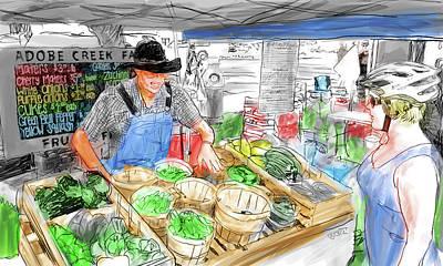 Digital Art - Market by Dave Luebbert