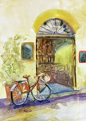 Painting - Market Day In Lucca by Bonnie Rinier