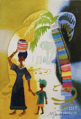 Painting - Market Day by Marilyn Jacobson