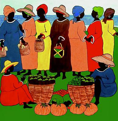 Painting - Market Day by Stephanie Moore