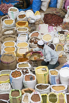 Turmeric Photograph - Market Day by Tim Gainey
