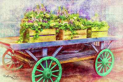 Photograph - Market Flowers by Wallaroo Images