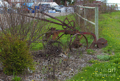 Photograph - Market Garden Plough by Donna L Munro