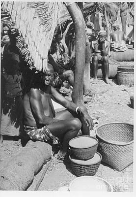 Photograph - Market In Mali by Yali Shi