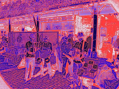 Market Interlude Blues Art Print