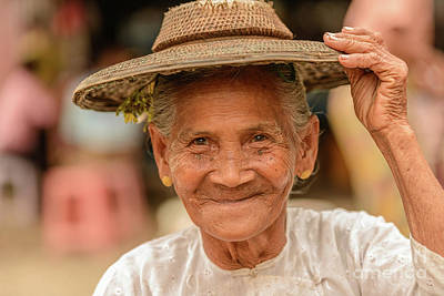 Photograph - Market Lady by Werner Padarin