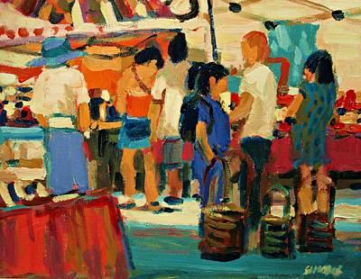Market Scene Original