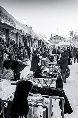 Photograph - Market Sellers by John Williams