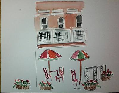 Painting - Market Square 2 by B L Qualls