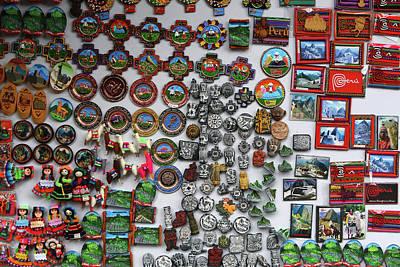 Photograph - Market Stall At Machu Picchu Village by Aidan Moran