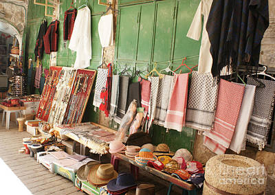 Photograph - Market Stall In Hebron 2 by David Birchall