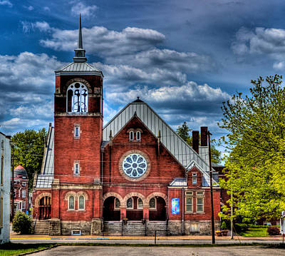 Photograph - Market Street Church by Jonny D