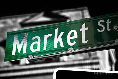 Photograph - Market Street Fusion by John Rizzuto