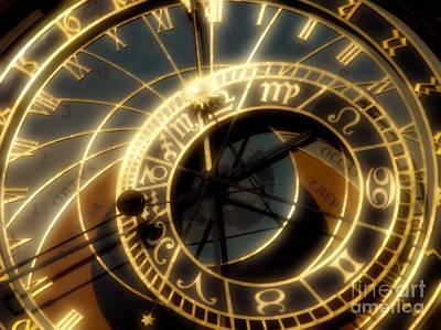Prague Digital Art - Marking Time by Ann Garrett