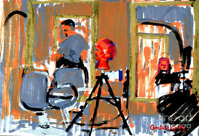 Painting - Mark's Salon by Candace Lovely