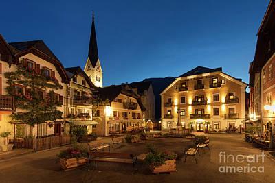 Photograph - Marktplatz Hallstatt by Brian Jannsen