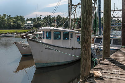 Photograph - Marla Brooke Shrimp Boat by Dale Powell