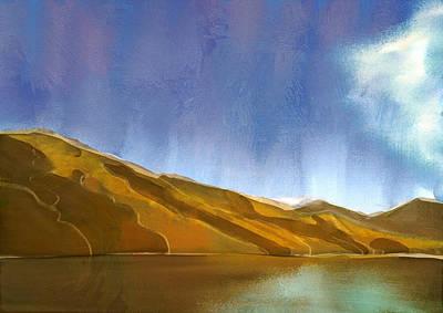 Digital Art - Marlborough Sounds, New Zealand by Brett Shand