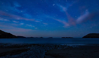 Photograph - Night In Marlborough Sounds  by Martin Capek