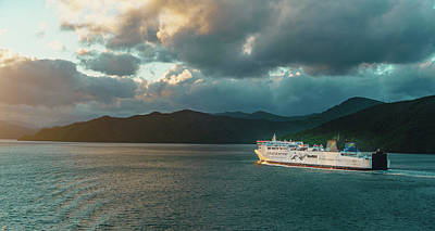 Photograph - Marlborough Sounds by Nisah Cheatham