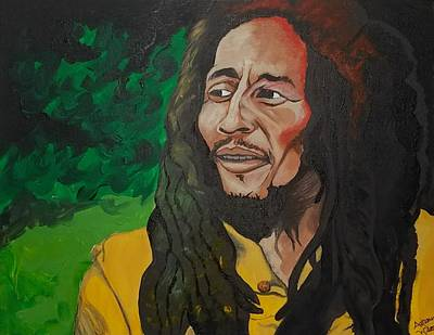 Painting - Marley by Autumn Leaves Art