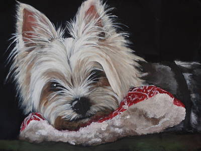 Painting - Marley by Carol Russell