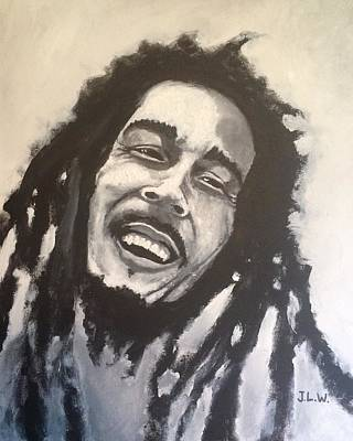 Painting - Marley by Justin Lee Williams