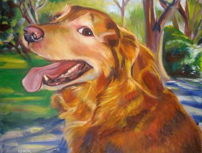 Painting - Marley by Kaytee Esser